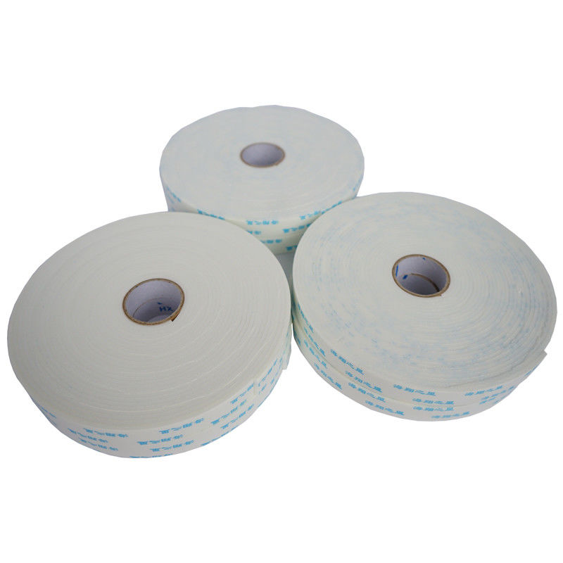 White EVA Foam Tape , 12mm Foam Backed Tape Fit Building Material Construction